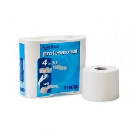 Celtex Professional compact toalettpapír 9,8x11cm/lap 2réteg 500lap 55m 4tek/csg 15csg/zsák 24raklap
