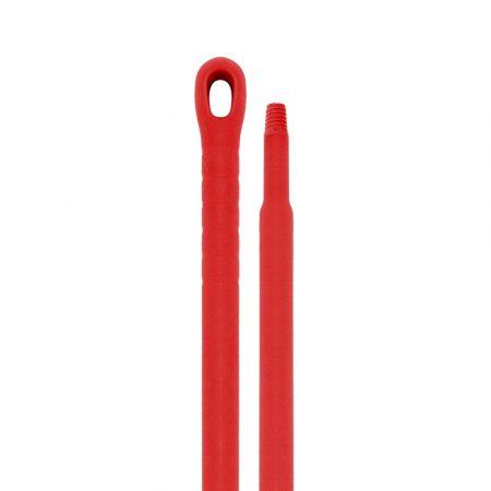 Aricasa Monoblock műanyag nyél 145cm, átmérő 32/22mm piros 10db/krt