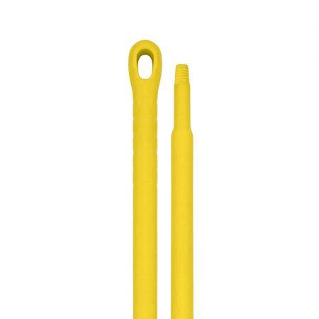 Aricasa Monoblock műanyag nyél 145cm, átmérő 32/22mm sárga