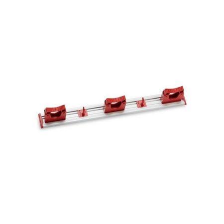 Aricasa eszköz tartó 50cm - 3 tartó + 2 kampó, piros 10db/krt