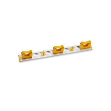 Aricasa eszköz tartó 50cm - 3 tartó + 2 kampó, sárga 10db/krt
