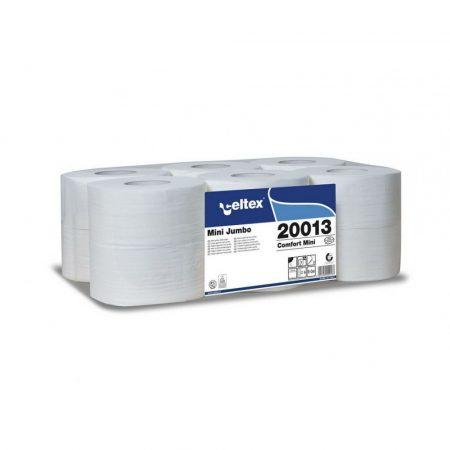 Celtex Mini toalettpapír 2 réteg, cellulóz, 130m, 9,2x18cm, 12 tekercs/zsugor