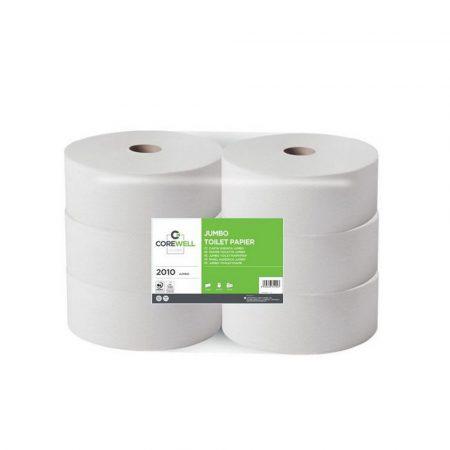 COREWELL toalettpapír 26cm 2 réteg cellulóz 260m 6tekercs/zsugor, 63 zsugor/raklap