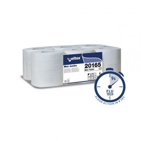 Celtex Mini toalettpapír 2 réteg, cellulóz, 160m, 12 tekercs/zsugor