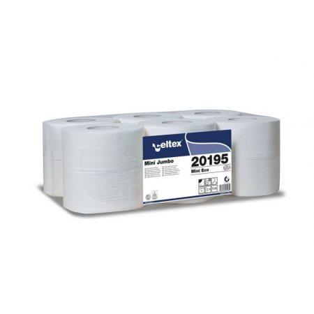 Celtex Mini toalettpapír 2réteg recy fehér 160m 12tekercs/zsugor