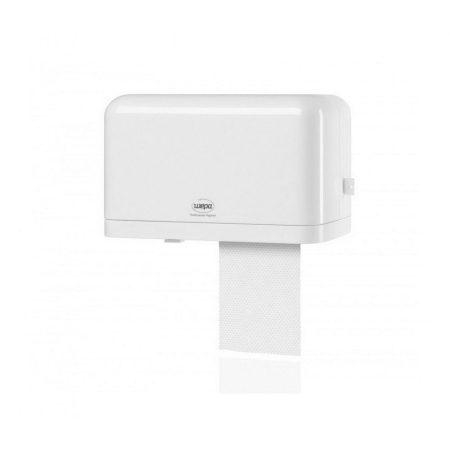 Wepa Mini iker kistekercses toalettpapír tartó ABS műanyag, fehér