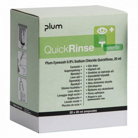 Plum QuickRinse Steril Szemkimosó Ampulla 1 csomag (5db ampulla)
