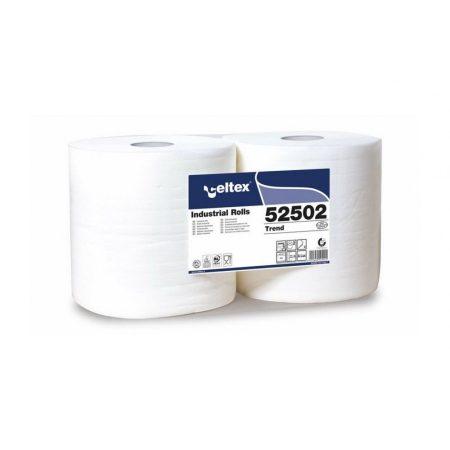Celtex Trend ipari törlő cellulóz, 2 réteg, 272m, 800 lap, 26,5x34cm, 2 tekercs/zsugor
