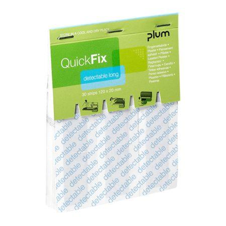 Plum QuickFix long kimutatható fémszálas ragtapasz 30db-os