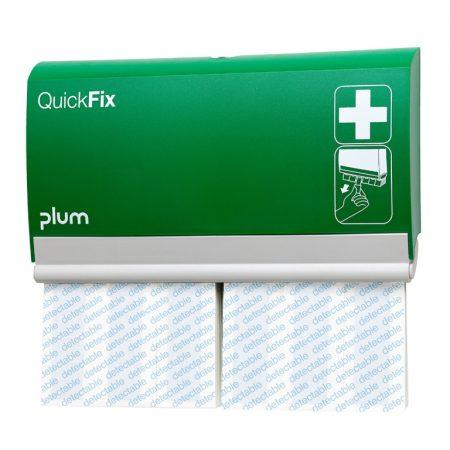 Plum QuickFix ragtapaszadagoló 2 x 30 db kimutható fémszálas ragtapassszal