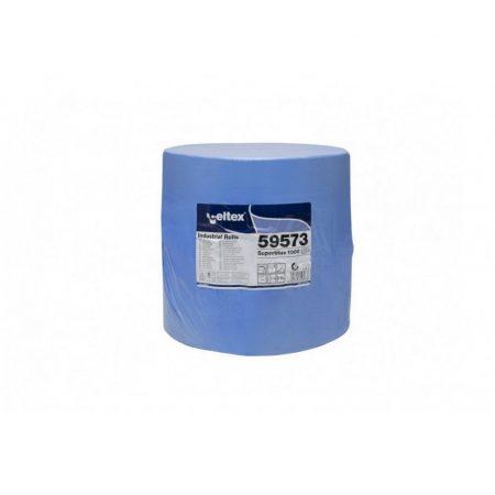 Celtex Superblue 1000 ipari törlő cell. kék 3 rétegű 360m 1000lap 38x36cm/lap 1tek/zsug 36zsug/rlp