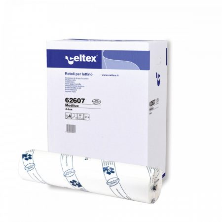 Celtex Medilux Orvosi lepedő cellulóz 2 réteg, 80m, 235 lap, 60x34cm (6 tekercs/karton)