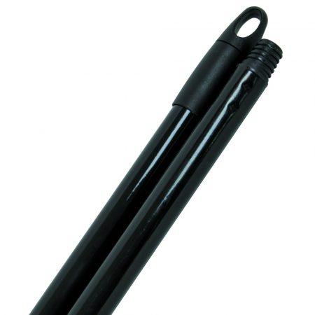 Aricasa műanyaggal bevont fém nyél fekete 1,3m 25mm átmérő 12db/krt