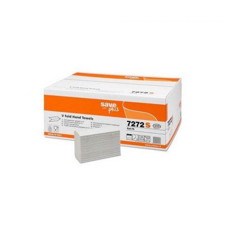 Celtex Save Plus hajtogatott kéztörlő recy 2réteg 21,5x21cm 15x200lap (3000 lap/karton)