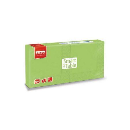 Szalvéta, 25x25cm, almazöld, 2 rétegű, 100 lap/csomag, 38 csomag/karton