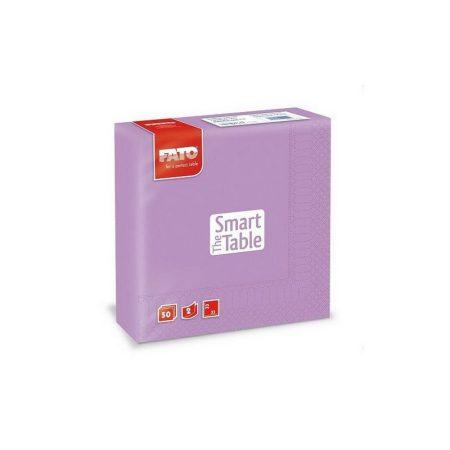 Szalvéta, 33x33cm, lila, 2 rétegű, 50 lap/csomag, 24 csomag/karton