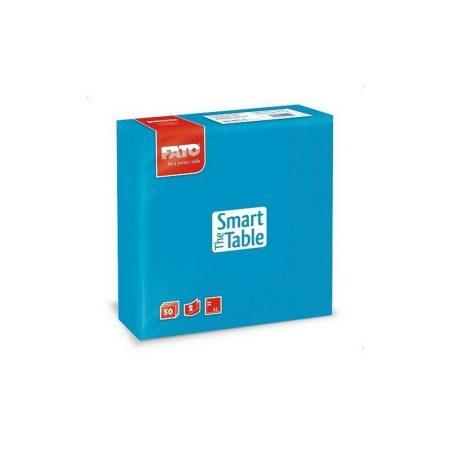 Szalvéta, 33x33cm, türkiz, 2 rétegű, 50 lap/csomag, 24 csomag/karton