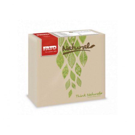 Sztár szalvéta, 2 rétegű, 38x38cm, NATURAL Veggie, 40 szál/csomag, 24 csomag/karton