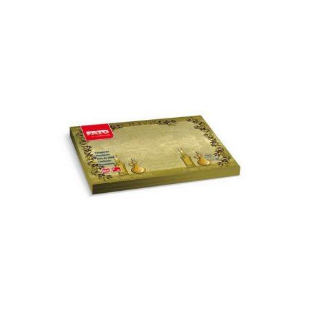 Tányéralátét - HUILE D'Olive, 30x40cm, 200 lap/csomag, 5 csomag/karton