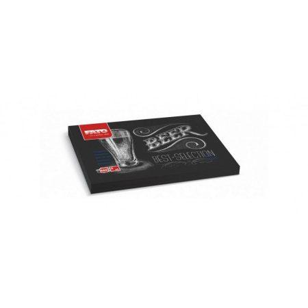 Tányéralátét - Beer, 30x40cm, 200 lap/csomag, 5 csomag/karton