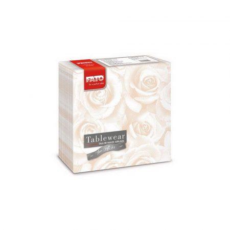 Airlaid szalvéta 40x40cm rózsa, pezsgő színű 50lap/csg 16csg/kart