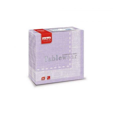 Airlaid szalvéta 40x40cm Cachemire lilac-halvány lila mintás 50lap/csg 16csg/kart