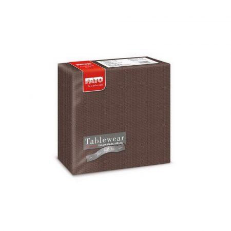 Airlaid szalvéta 40x40cm Shade csokoládé barna 50 lapos