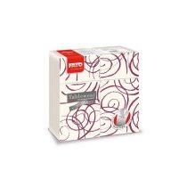 Airlaid szalvéta Quick Pocket 40x40cm Magie bordeaux 40lap/csg 12csg/kart