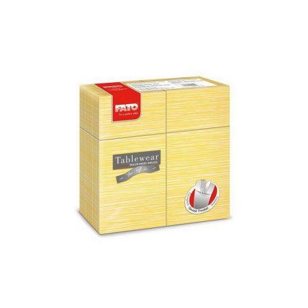 Airlaid szalvéta Quick Pocket 40x40cm Millerighe mimóza 40lap/csg 12csg/kart