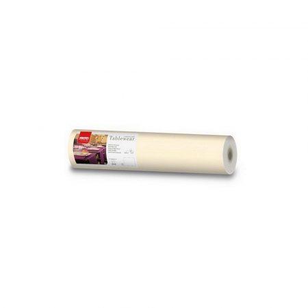 Airlaid asztali futó, 0,4x24m, ivory (krém)
