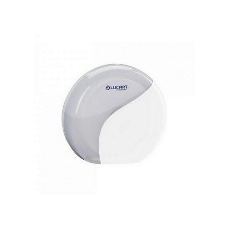 Lucart Identity Mini 19cm toalettpapír adagoló fehér ABS műanyag