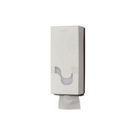 Celtex Megamini hajtogatott toalettpapír adagoló ABS fehér