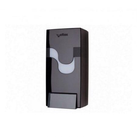 Celtex Megamini szappan adagoló ABS fekete, utántölthető
