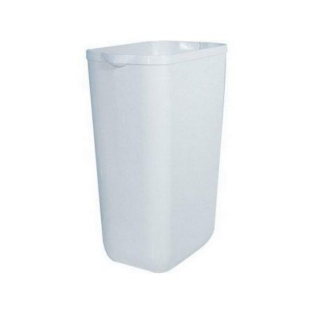 Mar plast falra is szerelhető fehér szemetes alj 23 liter