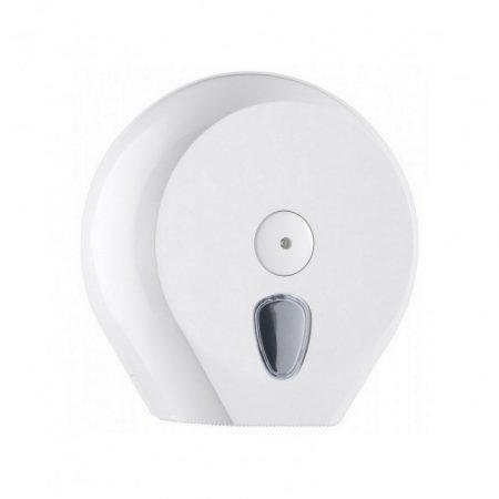 Mar plast Linea PLUS toalettpapír adagoló fehér, Midi, 23cm