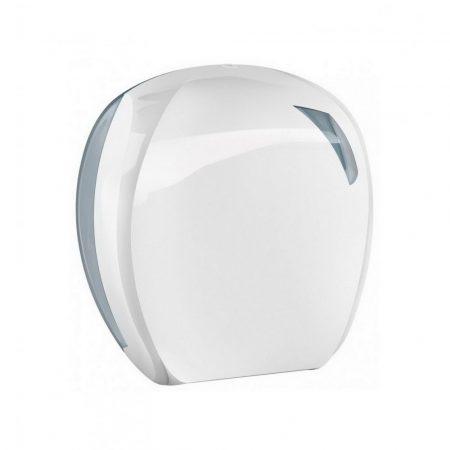 Mar plast Linea SKIN toalettpapír adagoló Midi 24 cm fehér/átlátszó