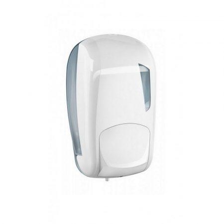 Mar plast Linea SKIN folyékony szappan adagoló fehér/átlátszó 1 literes