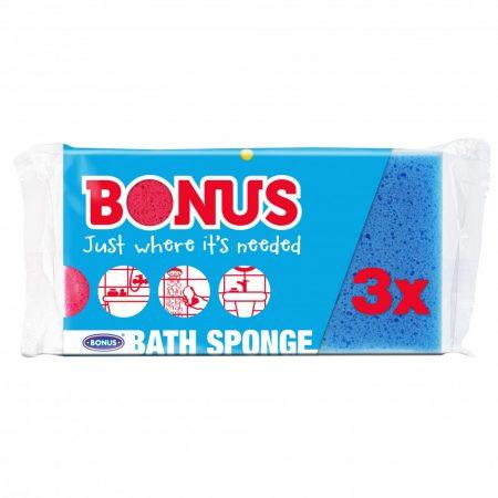 Bonus Fürdőszivacs 3/1 1 18csg/kis gyűjtő 12kgy/nagy gyűjtő