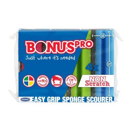 Bonus Formázott mosogatószivacs 4/1 15csg/kgy 12kgy/zsák