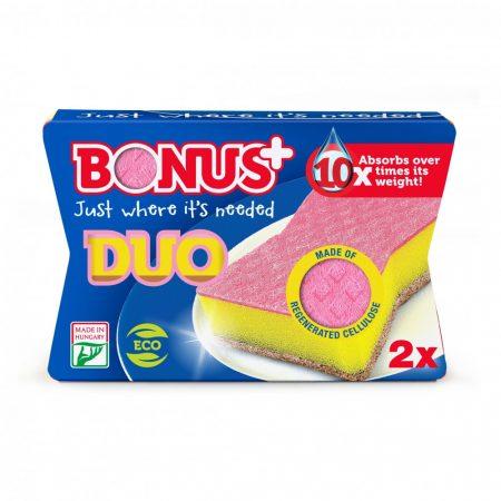 Bonus karcmentes mosogatószivacs 2/1 28csg/kis gyűjtő 4kgy/zsák
