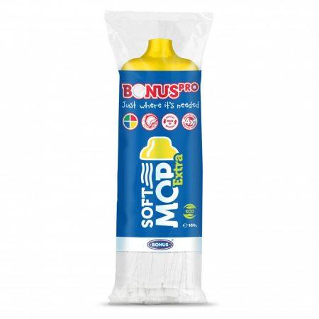 Bonus PRO SoftMOP Extra sárga felmosófej 1/1 160g 24db/karton