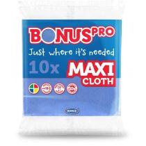 Bonus PRO MAXI általános törlőkendő kék 38x40cm 10 darabos