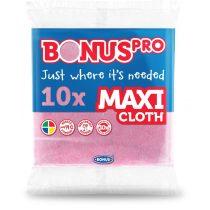 Bonus PRO MAXI általános törlőkendő pink 38x40cm 10 darabos