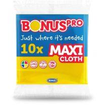Bonus PRO MAXI általános törlőkendő sárga 38x40cm 10 darabos