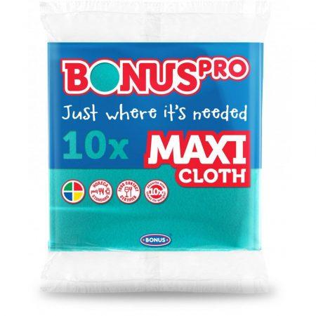 Bonus PRO MAXI általános törlőkendő zöld 38x40cm/lap 10darab/csomag