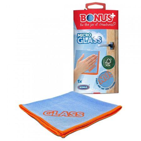 Bonus Microglass mikorszálas üvegtörlő kendő 35x35cm 1 darabos