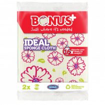 Bonus Ideal szivacsos törlőkendő 2/1, 20csg/kgy 6kgy/zsák