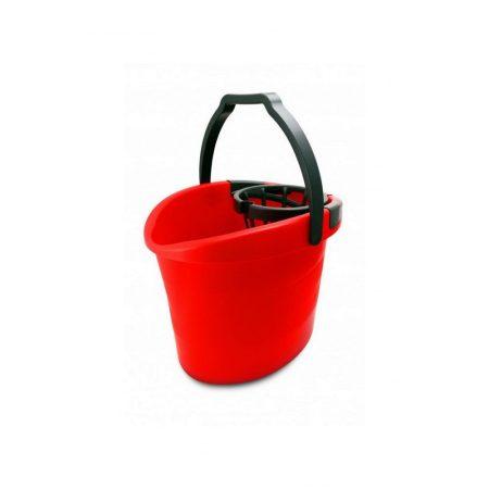 Bonus Felmosó vödör 18l + csavaró kosár (piros-gránit) 288/raklap