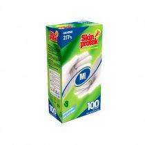 Berica Skin Protek egyszerhasználatos latex fehér S, 100 db / doboz, 10 dob/karton