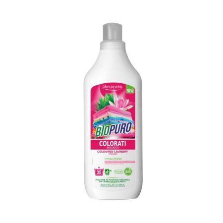 Biopuro folyékony mosószer színes ruhához 1000ml, 6db/karton